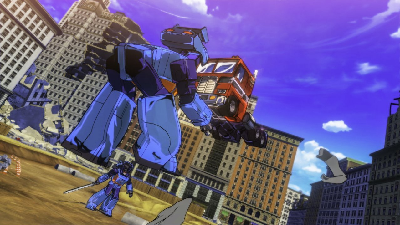 Скриншот игры Transformers: Devastation (Б/У) для PS4