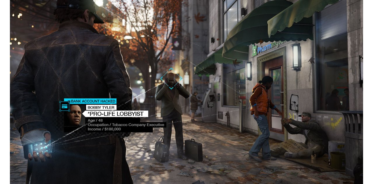 Скриншот игры Watch Dogs (Б/У) для PS4