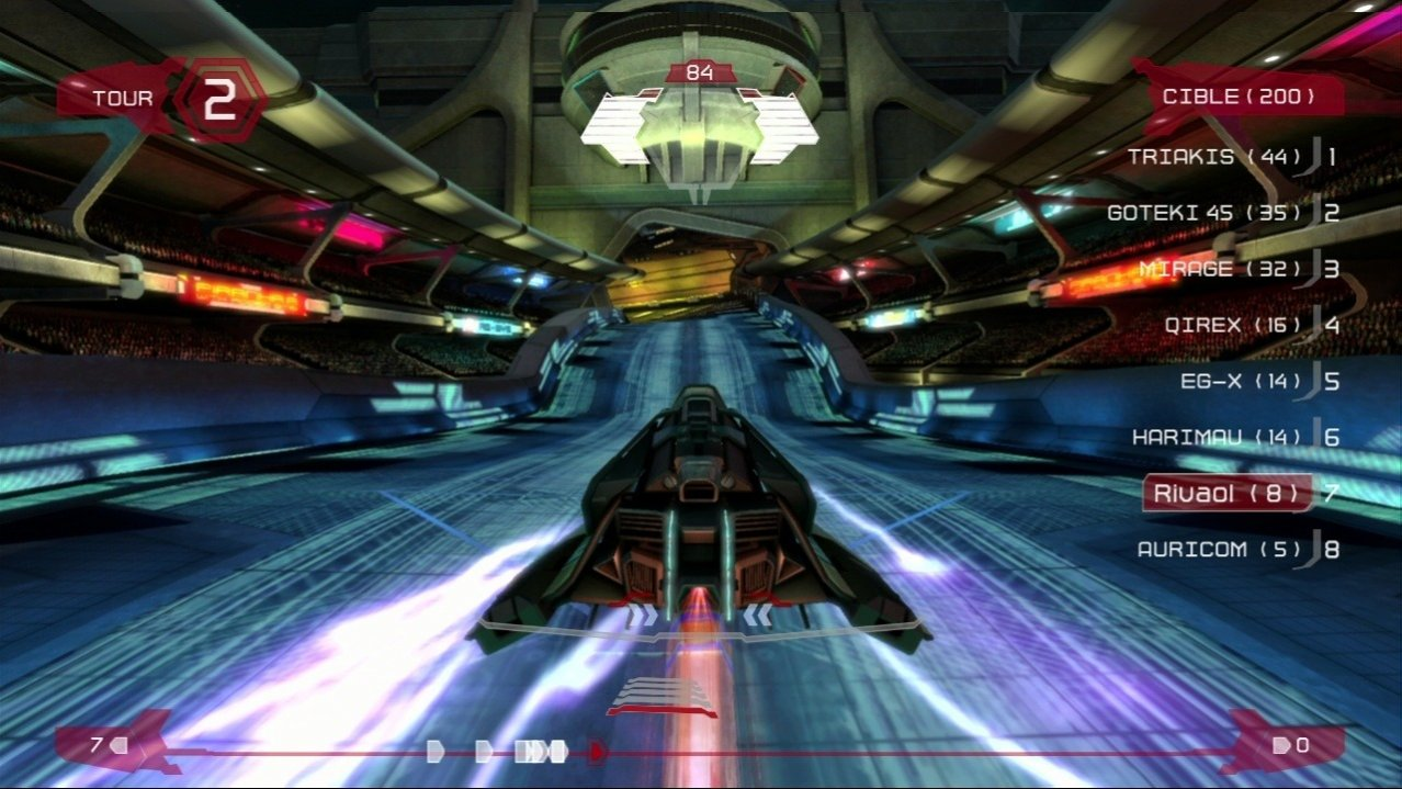 Скриншот игры WipEout HD Fury (Б/У) для PS3