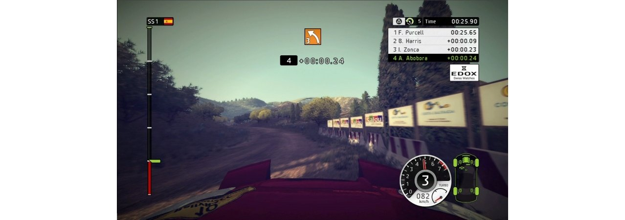 Скриншот игры WRC: FIA World Rally Championship 2 для PS3