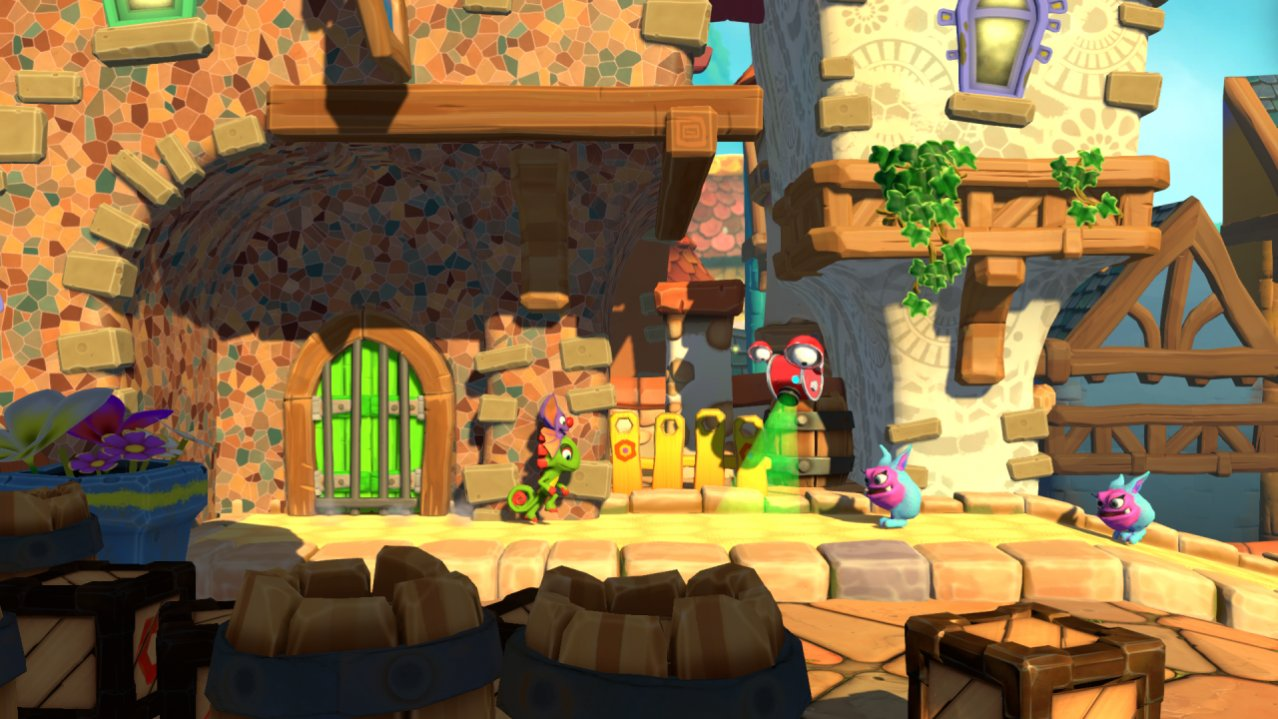 Скриншот игры Yooka-Laylee and the Impossible Lair для SWITCH
