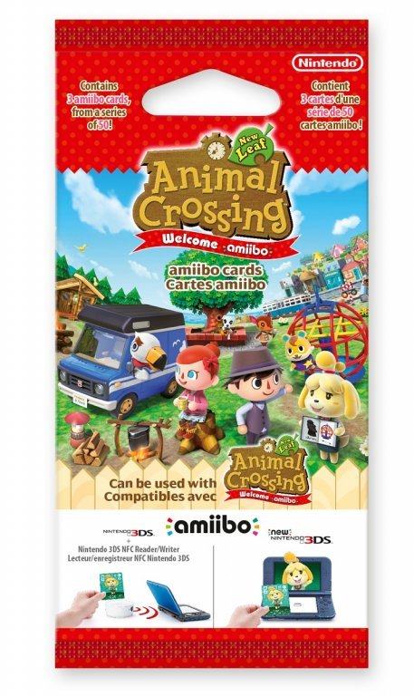 Главное изображение Amiibo Карты (коллекция Animal Crossing New Leaf Welcome amiibo) для Wii