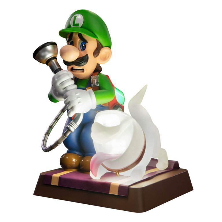 Главное изображение Фигурка First4Figures - Luigis Mansion: Luigi & Polterpup (Collector