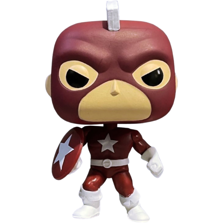 Главное изображение Фигурка Funko POP! Bobble: Marvel: Year of the Shield: Red Guardian (Exc) #810
