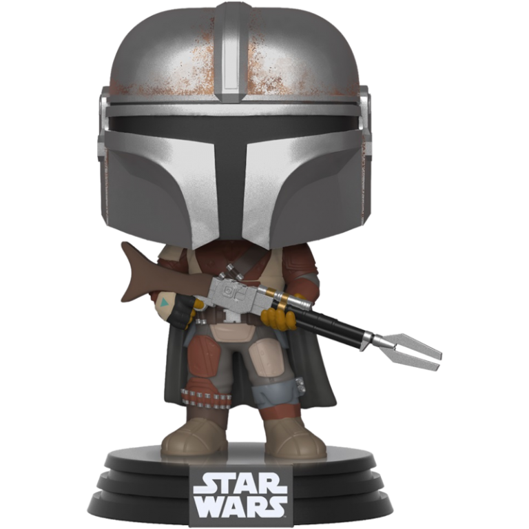 Главное изображение Фигурка Funko POP! Bobble: Star Wars: The Mandalorian: The Mandalorian #326
