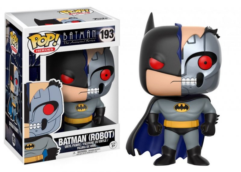 Главное изображение Фигурка Funko POP! Vinyl: DC: Batman Animated: BTAS Robot Batman #193
