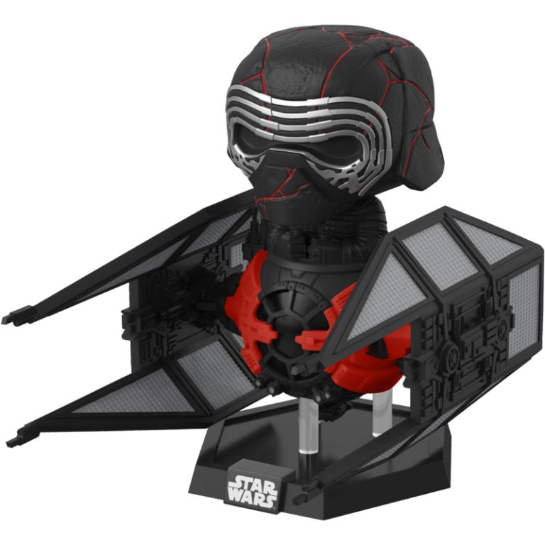 Главное изображение Фигурка Funko POP! Vinyl: Deluxe: Star Wars Ep 9: Supreme Leader Kylo Ren in the Whisper #321
