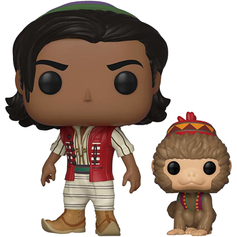 Главное изображение Фигурка Funko POP! Vinyl: Disney: Aladdin: Aladdin of Agrabah with Abu #538