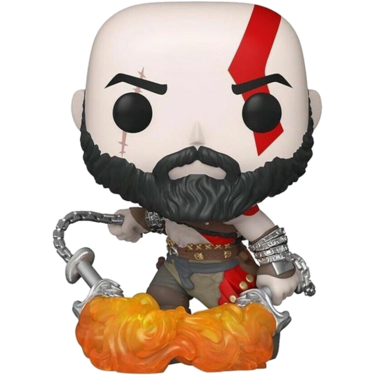 Главное изображение Фигурка Funko POP! Vinyl: Games: God of War: Kratos with the Blades of Chaos (GW) (Exc) #154