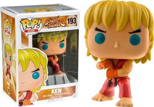 Главное изображение Фигурка Funko POP! Vinyl: Games: Street Fighter: Ken Special Attack (Exc) #193
