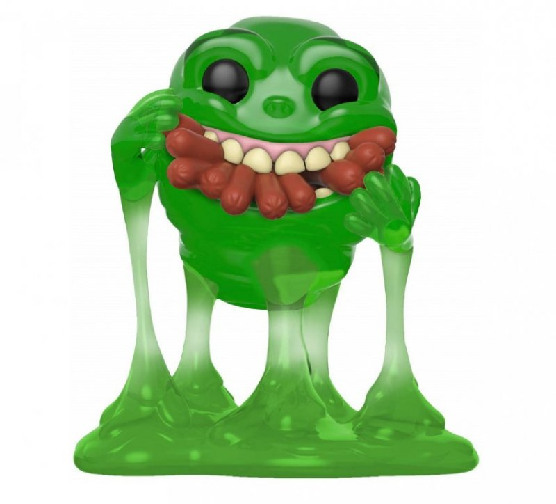 Главное изображение Фигурка Funko POP! Vinyl: Ghostbusters: Slimer w/Hot Dogs (Translucent) #747