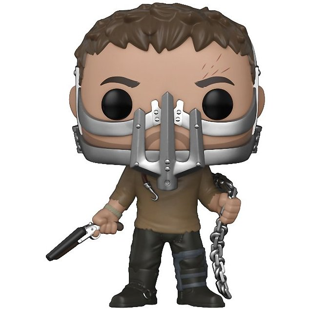 Главное изображение Фигурка Funko POP! Vinyl: Mad Max: Fury Road: Max with Cage Mask #510