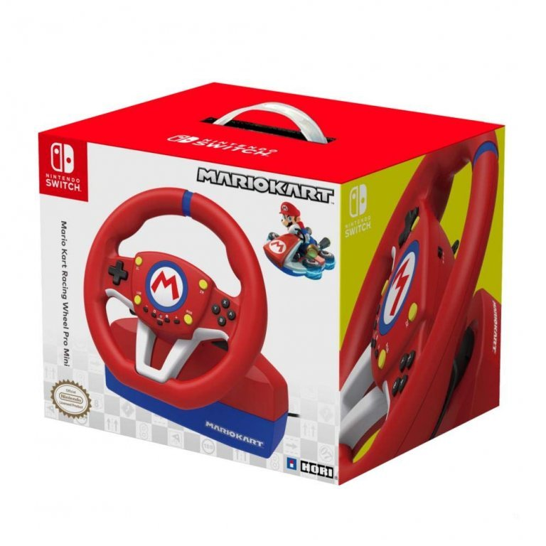 Главное изображение Hori Mario Kart Racing Wheel Pro (NSW-204U) для Switch