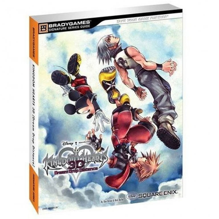 Главное изображение Kingdom Hearts Dream Drop Distance Strategy Guide [Paperback] для 3DS