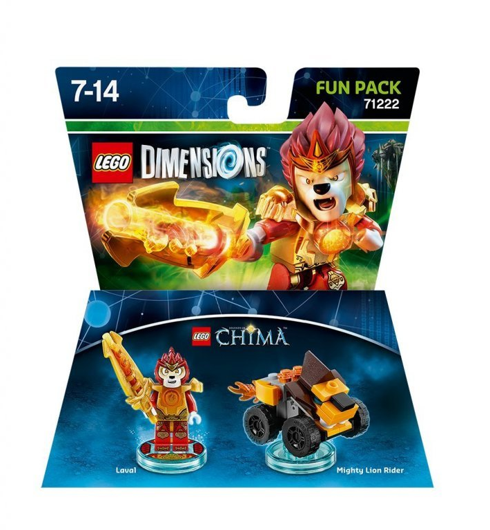 Главное изображение Lego Dimensions - Legend of Chima - Laval Fun Pack для PS3