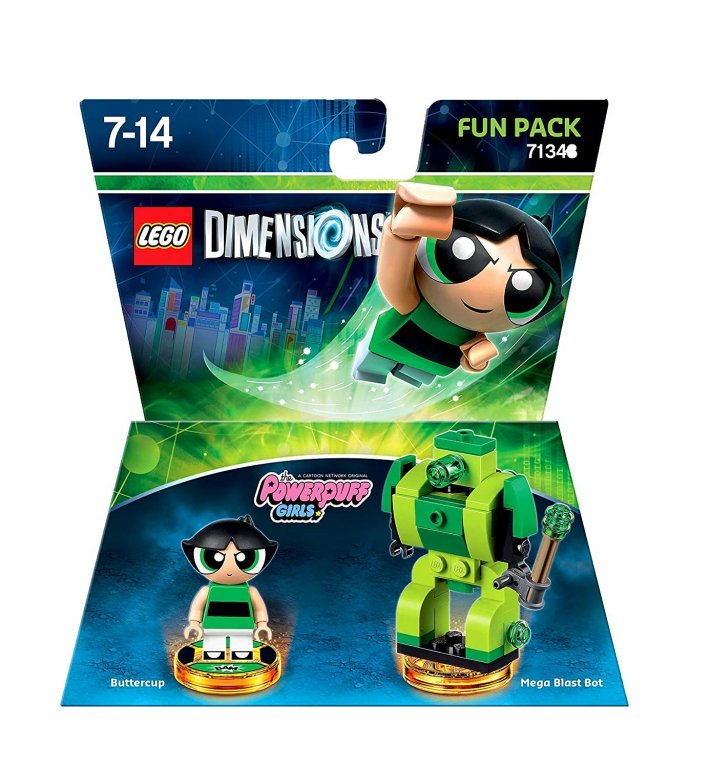 Главное изображение Lego Dimensions - Powerpuff Girls - Buttercup Fun Pack для PS3