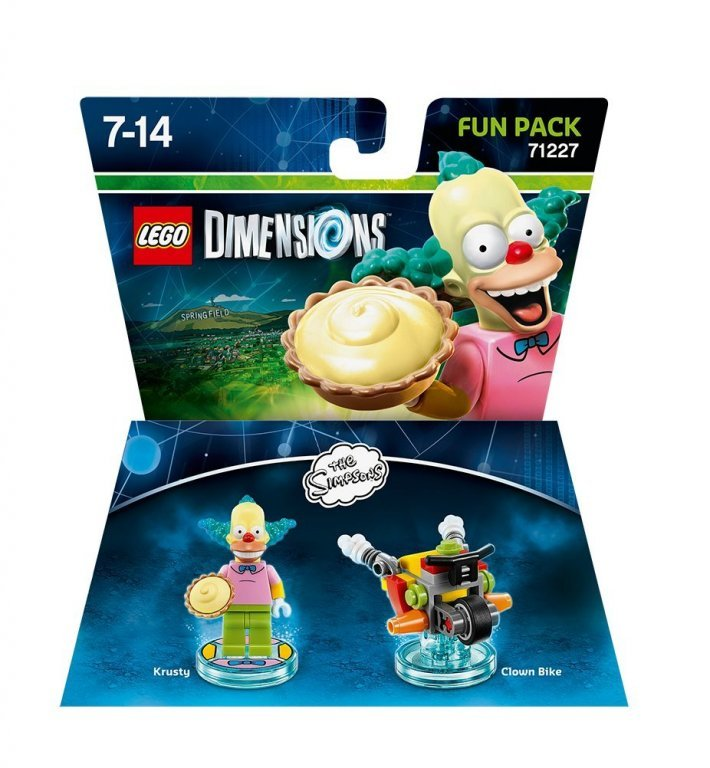 Главное изображение Lego Dimensions - The Simpsons - Krusty Fun Pack для PS3