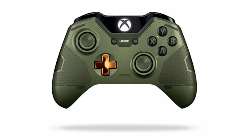 Главное изображение Microsoft Wireless Controller - Halo 5: Guardians The Master Chief для XBOXONE