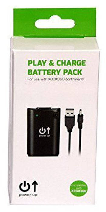 Главное изображение Power Up Play and Charge Battery Pack для Xbox360