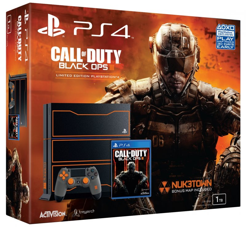 Главное изображение Sony PlayStation 4 1ТБ Special Edition (CUH-1208B) (РОСТЕСТ) + игра Call of Duty: Black Ops 3 (PS4 RUS) <small>(PS4)</small>