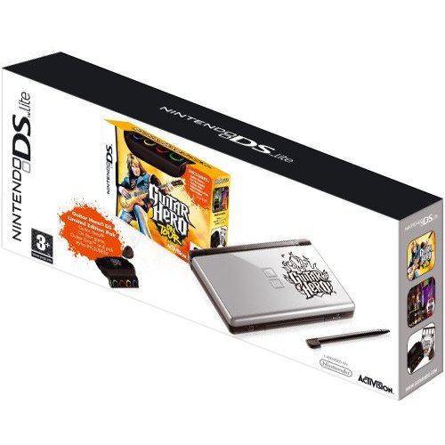 Главное изображение Nintendo DS Lite + игра Guitar Hero on Tour <small>(3DS)</small>