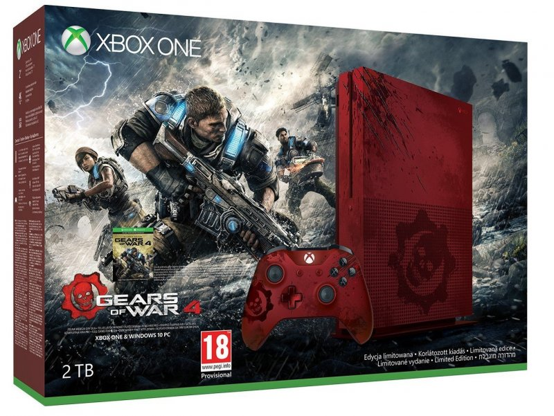 Главное изображение Microsoft Xbox One S 2TB - Gears of War 4 Limited Edition (EUROTEST) <small>(XboxOne)</small>