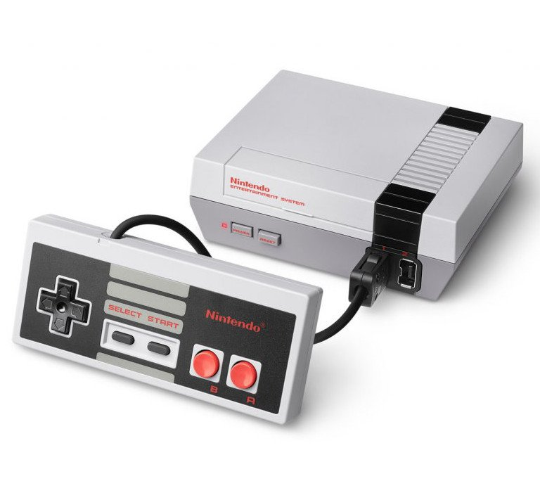 Главное изображение Nintendo Classic Mini: Nintendo Entertainment System (NES) (Б/У) <small>(Retro)</small>