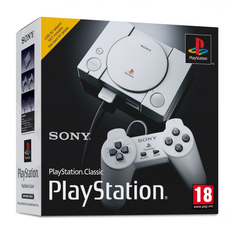 Главное изображение Sony PlayStation Classic (SCPH-1000RE) <small>(PS4)</small>