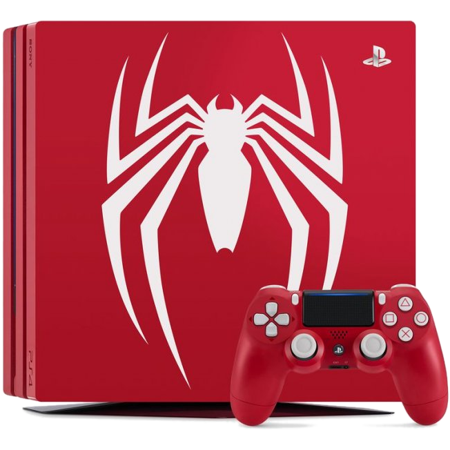 Главное изображение Sony PlayStation 4 Pro 1TB, Limited Edition Spider-Man (Б/У) <small>(PS4)</small>