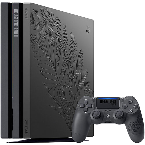 Главное изображение Sony PlayStation 4 Pro 1TB The Last of Us Part II — Limited Edition (CUH-7208B) (Б/У) <small>(PS4)</small>