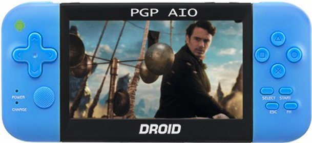 Главное изображение PGP AIO Droid Letto (Android 4.0), синяя <small>(PC)</small>