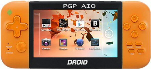 Главное изображение PGP AIO Droid Letto (Android 4.0), оранжевая <small>(PC)</small>