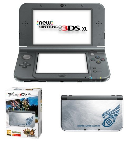 Главное изображение New Nintendo 3DS XL - Monster Hunter 4 Edition <small>(3DS)</small>