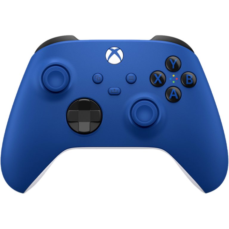 Главное изображение Xbox Wireless Controller – Shock Blue (QAU-00002) для XboxSX