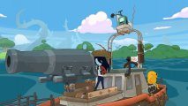 Скриншот № 1 из игры Adventure Time: Pirates of the Enchiridion [NSwitch]