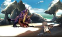 Скриншот № 1 из игры Bravely Default - Deluxe Collector's Edition [3DS]