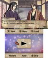 Скриншот № 2 из игры Hakuoki Memories of the Shinsengumi - Limited Edition [3DS]