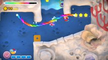 Скриншот № 2 из игры Kirby and the Rainbow Paintbrush (Б/У) [DS]