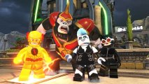 Скриншот № 1 из игры LEGO DC Super-Villains - Deluxe Edition [PS4]