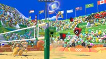 Скриншот № 1 из игры Mario & Sonic at the Rio 2016 Olympics Games [3DS]