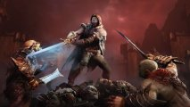 Скриншот № 1 из игры Middle-earth: Shadow Of Mordor (Средиземье: Тени Мордора) (Б/У) [PS3]