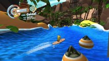 Скриншот № 2 из игры SpongeBob Surf & Skate Roadtrip [X360, MS Kinect]