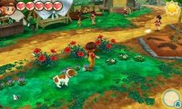 Скриншот № 2 из игры Story of Seasons: Trio of Towns [3DS]