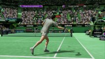 Скриншот № 1 из игры Virtua Tennis 4 + Sony Move Motion Controller (Контроллер движений) [PS3]