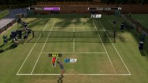 Скриншот № 2 из игры Virtua Tennis 4 + Sony Move Motion Controller (Контроллер движений) [PS3]