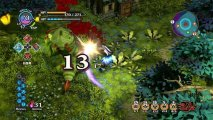 Скриншот № 1 из игры Witch and the Hundred Knight (Б/У) [PS4]