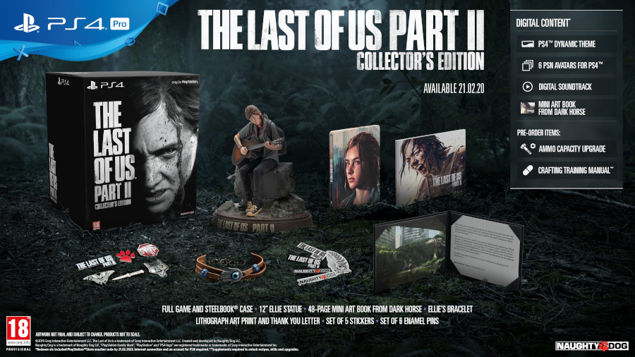 Last of Us Part 2 Collectors Edition