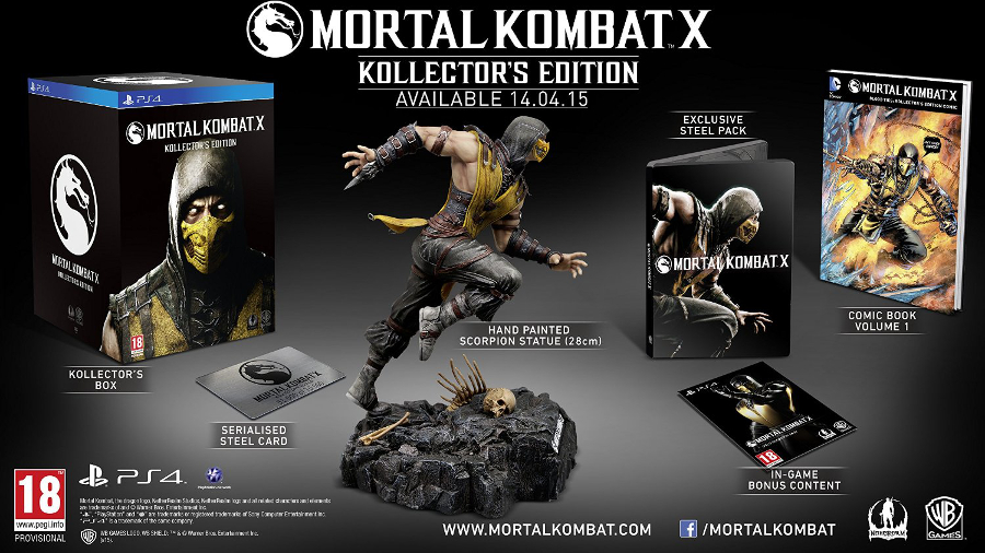 Mortal Kombat X - Collector's poster