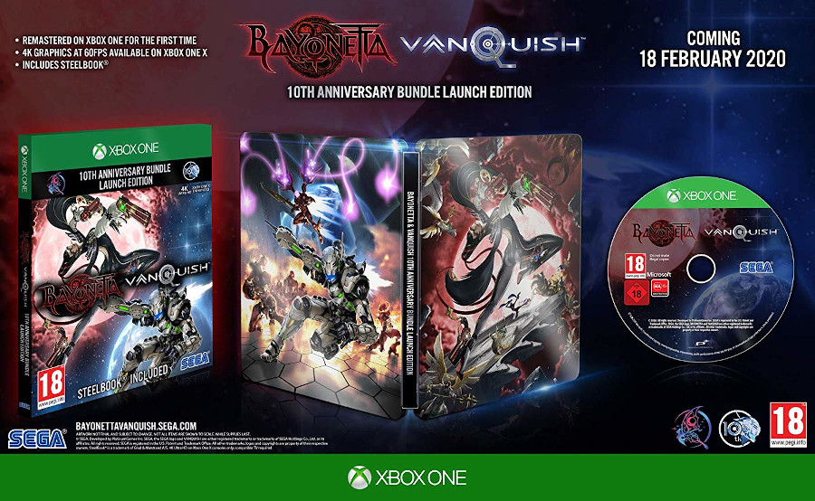 Bayonetta & Vanquish 10th Anniversary Bundle Xbox One